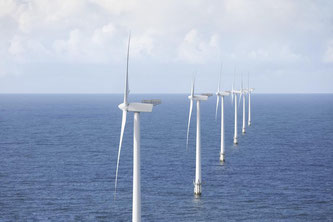 Offshore-Windpark in der Dogger Bank-Region (Nordsee)  - Bildquelle: abb.com