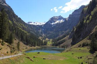Der Talalpsee (Bildquelle: Monika Romer)
