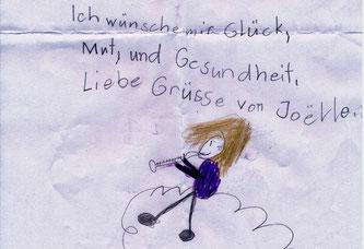 Manche Kinderwünsche ans Christkind sind besonders rührend (Bildquelle: Die Schweizerische Post / Museum für Kommunikation Bern)