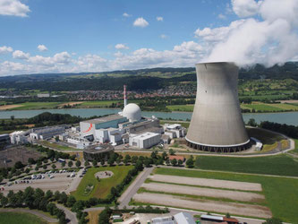 Kernkraftwerk Leibstadt - Luftansicht  Bildquelle: kkl.ch