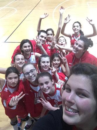 Under 13 festeggia la prima vittoria!