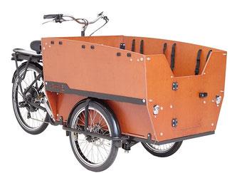 Babboe Lastenfahrrad mit Elektromotor Max-E 2020