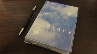 日記とボールペン