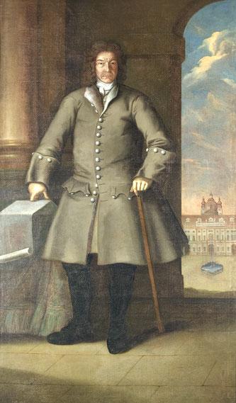 Porträt Jakob Prandtauers (Stift Melk), Foto: Stift Melk (c) Günter Prinesdom