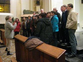 En répétition, sur place, le jeudi 11 décembre 2014