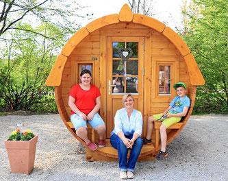 Ferien im Holzfass, die kleine Ferienwohnung