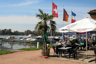 Restaurant beim Yachthafen Weil am Rhein