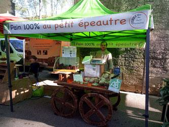 pain petit epeautre bio Marché Les Arceaux Montpellier 34