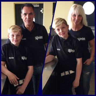 Das SSV-Arena Team: Familie Henriques