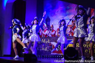 Die Royalgarde aus Mettenheim während ihrem Auftritt.