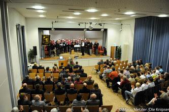 Beim Jahresempfang der Stadt Osthofen konnte Bürgermeister Goller deutlich machen, wie viel die Stadt in den letzten Jahren erreicht hat.