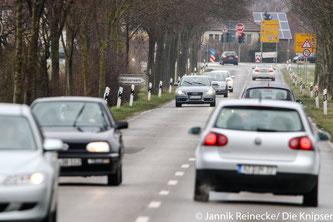 Bald werden der Kreisel in Richtung B9 und die anschließende Landstraße (L386) saniert.