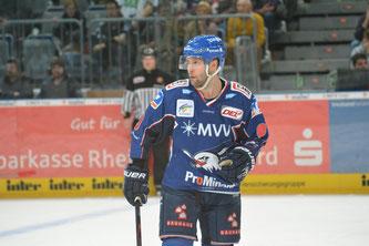 Brent Raedke war einer der Schlüsselspieler de Adler in Ingolstadt.