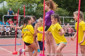 Rund 500 Kinder nahmen am diesjährigen Gauturnfest im BIZ in Worms teil.