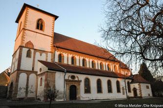 Basilika St. Lambert in Bechtheim.