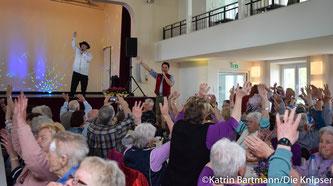 Die Senioren hatten viel Spaß.