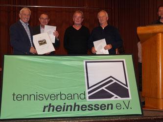 Von links nach rechts: G.Weber, W.Knorpp, W. Höfler, D. Münk Es fehlen: H.Orth,  M.Schwarze