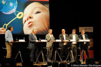 Pressekonferenz im Wormser.