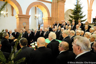 Begeisterte die Zuhörer in der Basilika: Der Konzertchor Ü60 Worms-Wonnegau.