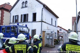Schreck am Montagmorgen 22.01.2018. Ein Kaminbrand sorgte für einen Feuerwehreinsatz in Mettenheim.