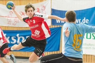 Yannick Volk für die TGO mA-Jugend. Foto: Hans-Peter Oberneder