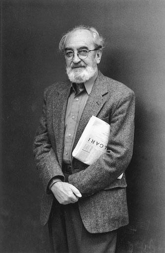 Ángel González, 1997. © Luis Montoto