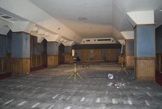 Filmstudio kurz vor Beginn der Bauarbeiten