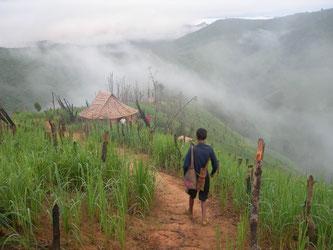 Ethnie Kmou au nord Laos