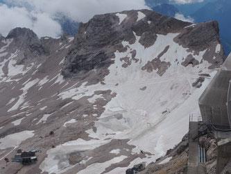 Der nördliche Schneeferner. Foto: Winter