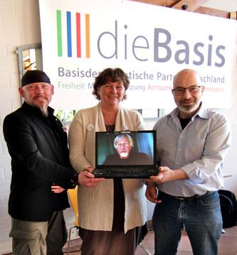 Bundestagskandidaten dieBasis LV Mecklenburg-Vorpommern
