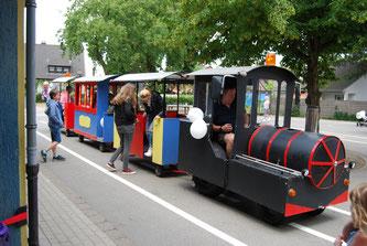 Die Bimmelbahn feierte ein erfolgreiches Comeback bei unserem Bürgerfest