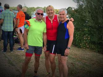 Jochen Geke, Helga Garwers und Wolfgang Boldt