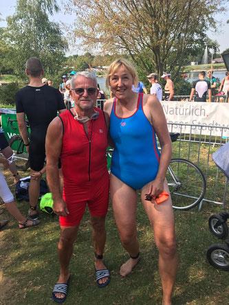 Jochen Geke und Helga Garwers
