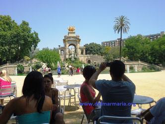 Парки Барселоны.