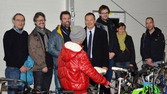 Dynamo Bortshausen spendet Räder