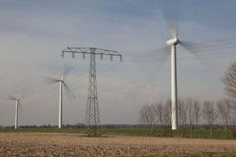 Windmühlen in Paetrow / Passow bei Gadebusch