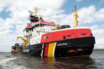 Ein interessantes Schiff: Die ARKONA