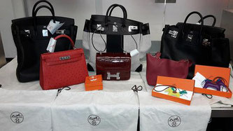 From customs watchdogs at Dusseldorf Airport confiscated counterfeit goods  -  courtesy customs authority