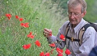 Volker Violet, Leiter der Alpenexkursionen. Foto: Claudia Zieboll