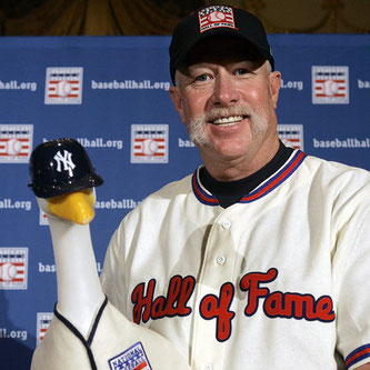 Nella foto il National Baseball Hall of Fame Goose Gossage (Richard Drew/2008 AP)