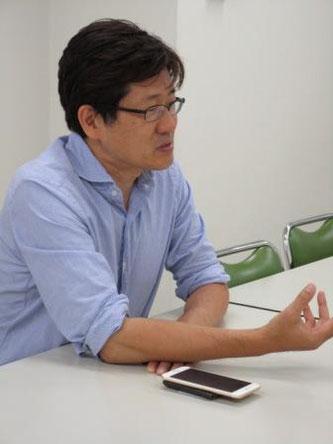 投資家の視点をもつ事業計画の重要性を説く磯崎さん
