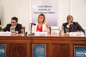Federica Mogherini - SAIIA - South African Institute of International Affairs
