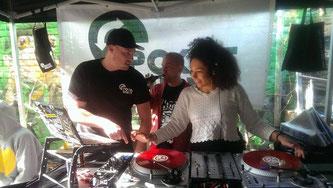 Sponti DJ-Workshop mit POK und Planet Hop-Amigo WinneOneTwo