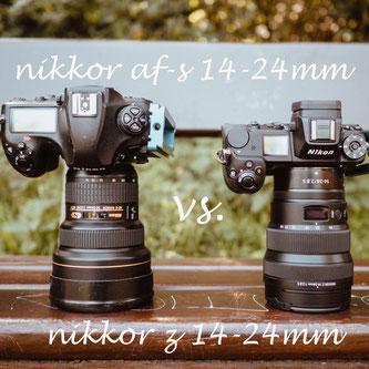 nikkor af-s 14-24mm vs Nikkor z 14-24mm