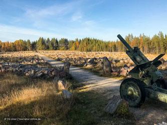 Suomussalmi: Winterkriegsdenkmal