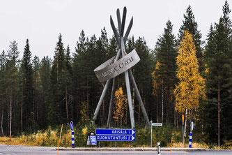 Am Polarkreis bei Kemijärvi