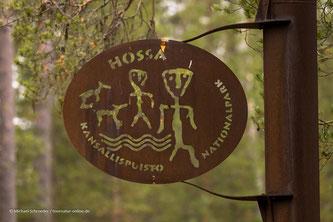 Wappen des Hossa Nationalparks