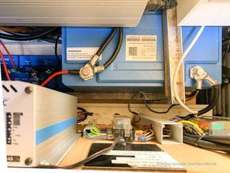 Lithium Batterie in einem Wohnmobil