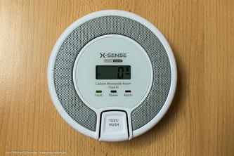 Gaswarner und Detektor im Wohnmobil