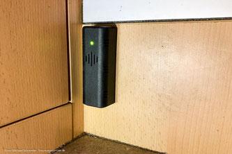 3-Gas-Alarmmelder und Detektor im Wohnmobil